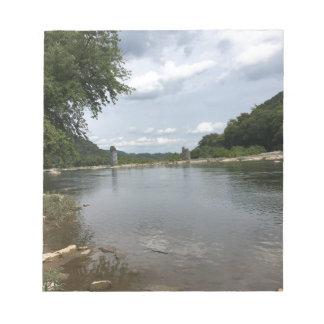 Potomac River through Harpers Ferry, WVA Notepad