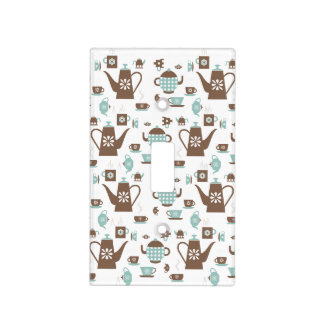 Pots and Cups Tea and Coffee Light Switch Cover