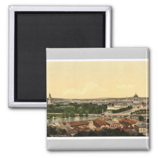 Potsdam, general view, Berlin, Germany rare Photoc Magnet
