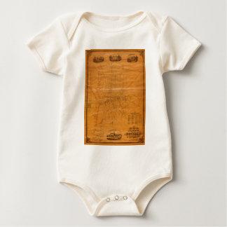 Potsdam New York 1853 Baby Bodysuit