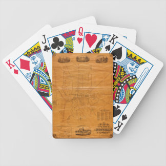Potsdam New York 1853 Bicycle Playing Cards