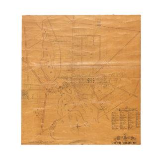Potsdam New York 1853 Notepad