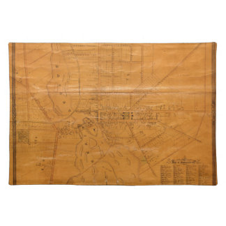 Potsdam New York 1853 Placemat