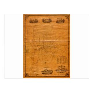 Potsdam New York 1853 Postcard