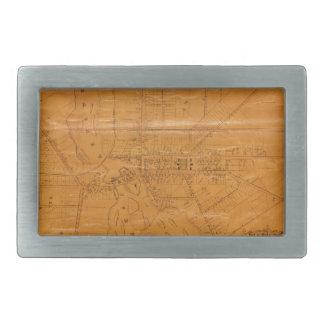 Potsdam New York 1853 Rectangular Belt Buckle