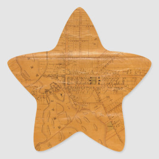 Potsdam New York 1853 Star Sticker