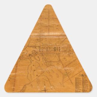 Potsdam New York 1853 Triangle Sticker