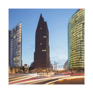Potsdamer Platz in Berlin Canvas Print
