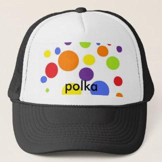 potta, polka trucker hat