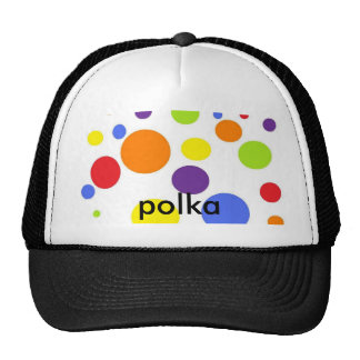 potta, polka trucker hat