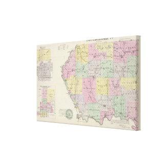 Pottawatomie County, Kansas 2 Gallery Wrap Canvas