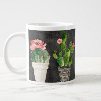 Potted Cacti jumbo mug