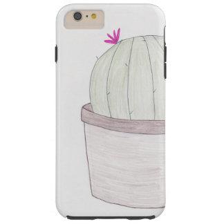 Potted Cactus Plant Tough iPhone 6 Plus Case