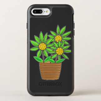 Potted Sunflowers OtterBox Symmetry iPhone 7 Plus Case