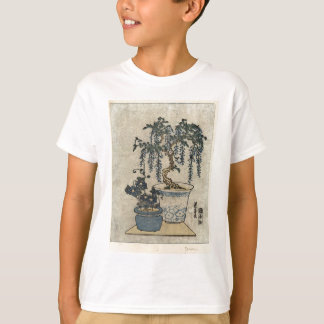 Potted Wisteria - Eisen Ikeda - 1818 - woodcut T-Shirt