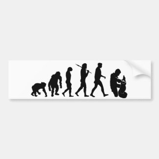 Potter sculptor clay sculpture sculpting gifts bumper sticker