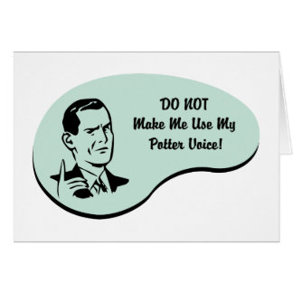 Potter Voice Card