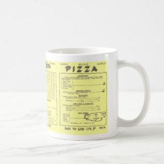 Potter's Pizza Menu Mug