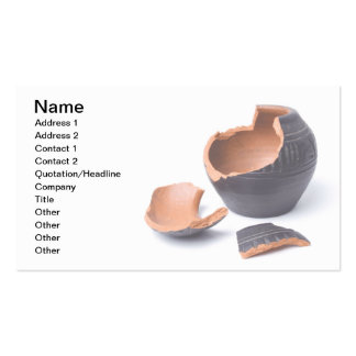 Pottery business cards and business card templates for Pottery business cards