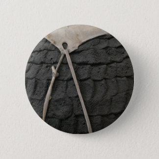 Pottery Design 2 Inch Round Button