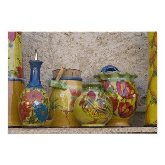 Pottery, Moustiers-Sainte-Marie, Provence, Photo