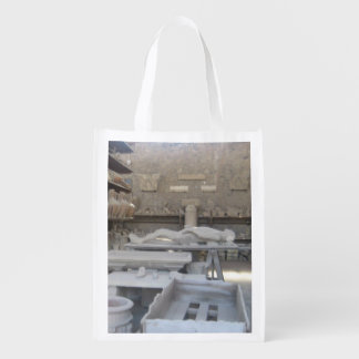 Pottery Room In Pompeii Reusable Grocery Bag