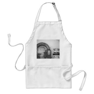 Pottery still life standard apron