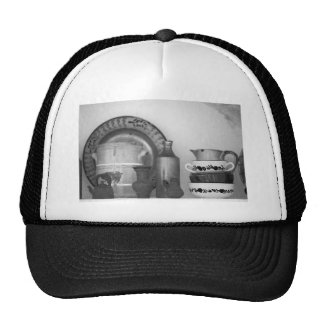 Pottery still life trucker hat