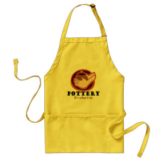 Pottery T-shirts and Gifts. Standard Apron