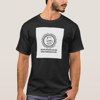 potty joke male parts T-Shirt