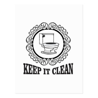 potty jokes clean reminder postcard