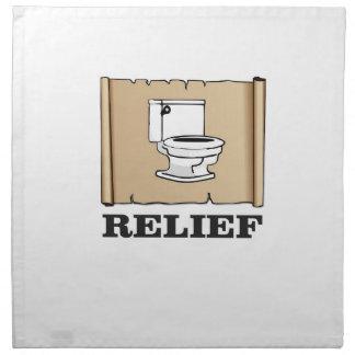 potty relief fun napkin