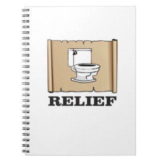 potty relief fun note book