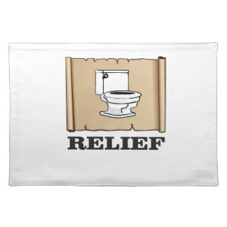 potty relief fun placemat