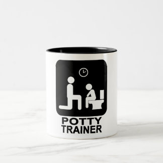 Potty Trainer Mug - White