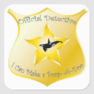 Potty Training Poop~A~Doo Sticker Badges