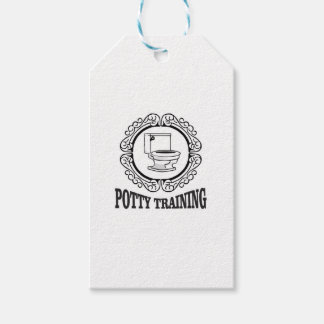 potty training reminder pack of gift tags