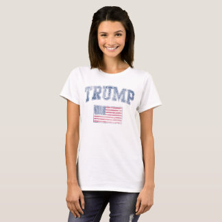 POTUS Trump Patriotic Flag T-Shirt