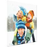 Pouces de la photo de famille [24x24] toile tendue sur châssis