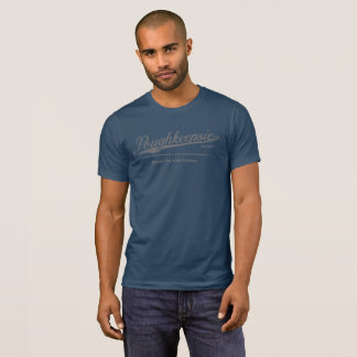Poughkeepsie - Queen City of the Hudson - Gray T-Shirt