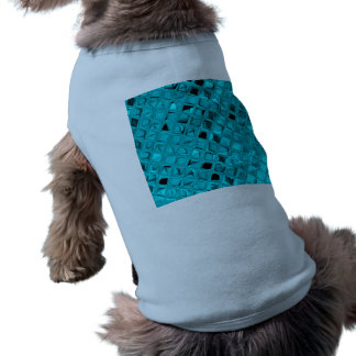 Poule mouillée impertinente de diamant turquoise G Vêtement Pour Animal Domestique
