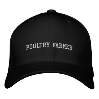Poultry Farmer Embroidered Hat