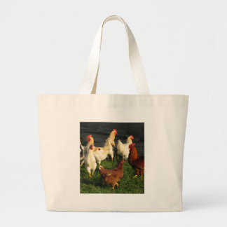 Poultry Large Tote Bag