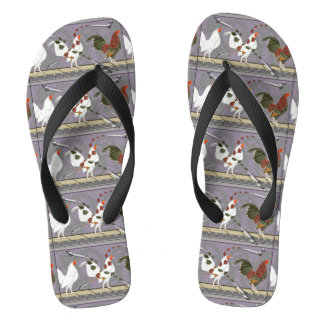 Poultry Painter Flip Flops