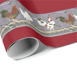 Poultry Painter Wrapping Paper