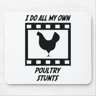 Poultry Stunts Mouse Mat