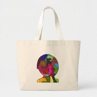 Pound-Tristan F Large Tote Bag