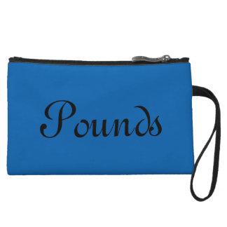 Pounds, Blue Wristlet