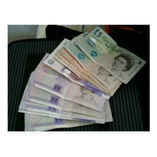 pounds postcard