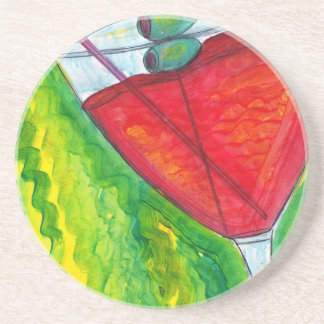Pour a Drink Beverage Coasters